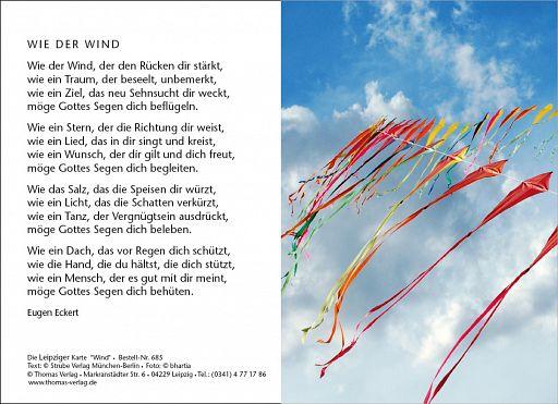 Leipziger Karte: Wie der Wind