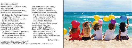 """Leipziger Karten """"Sieben Wünsche"""""""