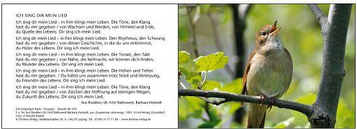Leipziger Karten: Gesang