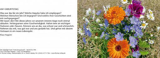 Leipziger Karte: Geburtstagsstrauß