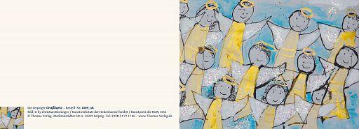 Leipziger Kunstkarte: Engelslieder - ohne Text