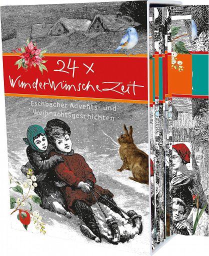 24 x WunderWünscheZeit, Geschenkhefte und Deko-Plakat im Schuber
