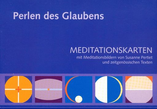 10erSet Perlen des Glaubens, Meditationskarten