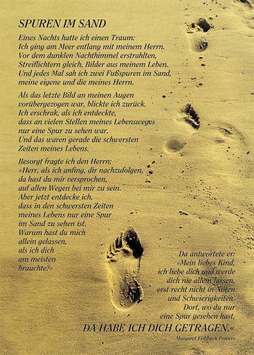 12erSet Spuren im Sand - Postkarte