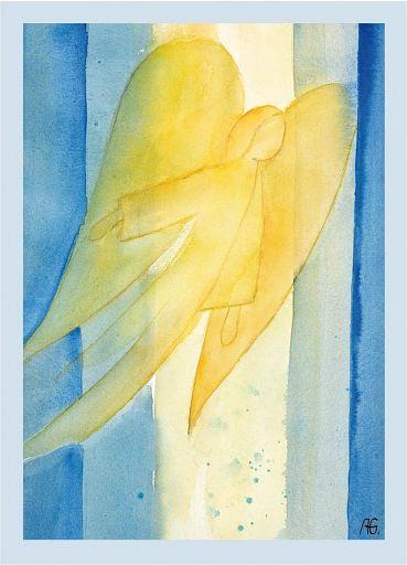 Umschlag für Geschenkhefte: Engel