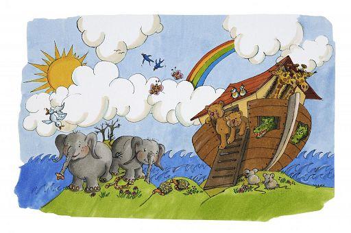 3D Karte - Arche Noah