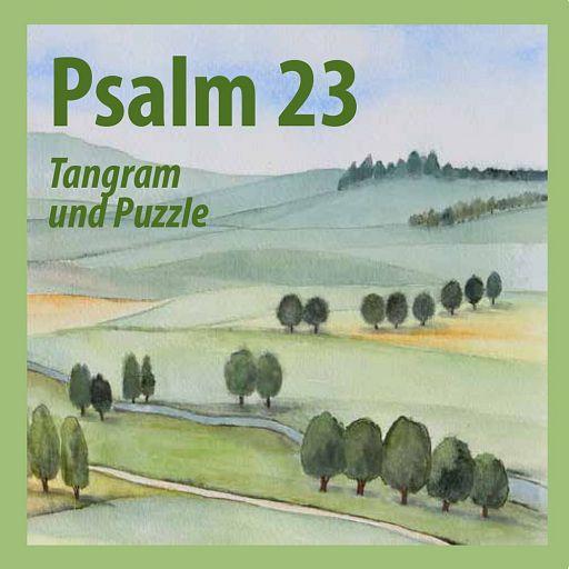 """Tangram und Puzzle """"Psalm 23"""""""