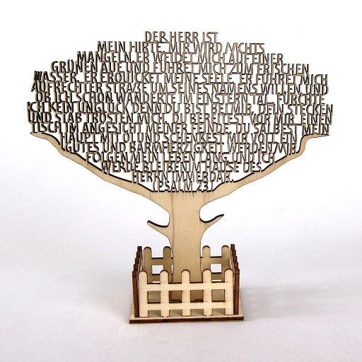 Text-Baum Psalm 23