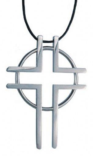 """Anhänger Kreuz """"Weg zum Leben"""""""