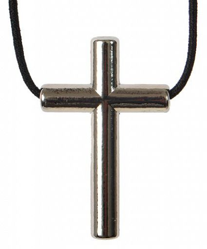 "Anhänger Kreuz ""Balance"" mit Band"