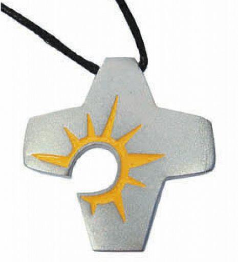 Osterkreuz mit Sonne und Band