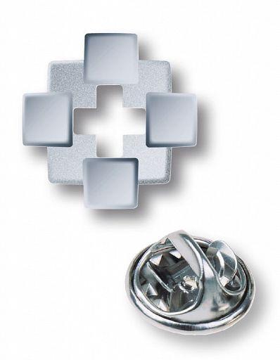 """Pin """"Facettenkreuz"""", mit Nadeldorn"""