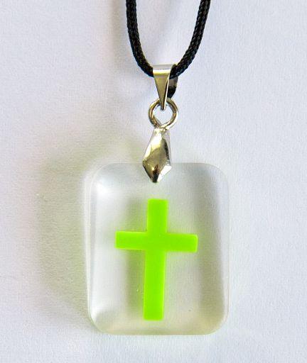 """Anhänger mit Kreuz """"Damit Ihr Hoffnung habt"""""""