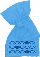 Multifunktionstuch Fische - blau