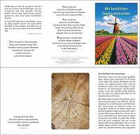 Karte: Mit herzlichen Segenswünschen, Windmühle