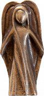 Schutzengel aus Bronze