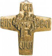"""Große Bronzekreuze """"Ich bin bei euch"""""""