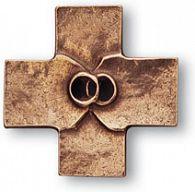 Ehekreuz Bronzekreuz