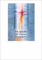 """Schmuckschein """"Ich glaube"""", mit Text Jahreslosung 2020"""