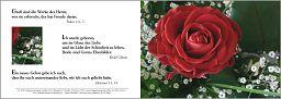 Birnbacher Karten: Taufkarte - Psalm 111,2