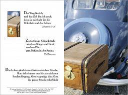 "Birnbacher Karten: ""Reise-Koffer"" - Johannes 14,6"