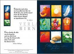 "Faltkarte Bahlinger, Geschenkkarte ""Gottes reicher Segen"""