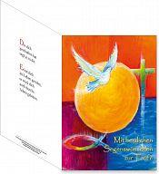 Umschlagkarte, Faltmappe - Taufe