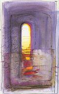 """Postkarte Bahlinger """"upstairs"""""""