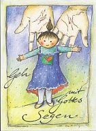 Postkarte - Wonneproppen Mädchen