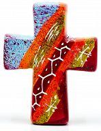 Kreuz aus Speckstein, African Summer 3 - fair produziert