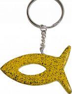 Speckstein-Schlüsselanhänger Fisch …