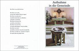 Aufnahme in die Gemeinde, katholisch, Erwachsenentaufe