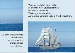 "Schaukastenposter 2 ""Segeln"""