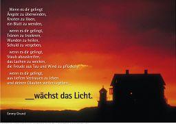"Schaukastenposter 13 ""Sonnenuntergang"""