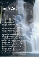 """Schaukastenposter 17 """"Keine Zeit"""""""
