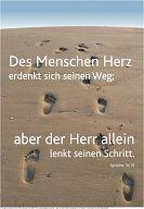 Schaukastenposter 41 Poster Spuren im Sand