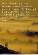 """Schaukastenposter 42 """"Abendstimmung"""""""