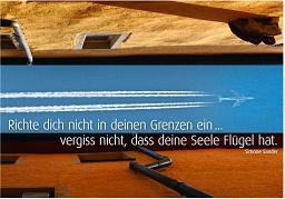 """Schaukastenposter 61 """"Grenzenlos"""""""