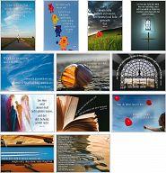Schaukastenposter A3, SET 4 - Bibelverse zur Schaukastengestaltung