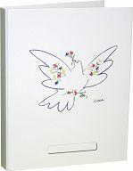 KU-Ringordner mit Aufklebern (reformiert) - Picasso Taube
