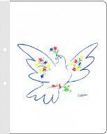 KU-Schnellhefter Friedens-Taube, mit Innentexten