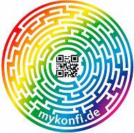 myKonfi Reise-Aufkleber Spot