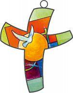 Farbkreuz christliche Symbole, Bahlinger Taufmotiv