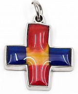 Farbkreuz - Glaube Liebe Hoffnung