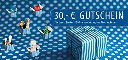 Geschenk-Gutschein 30,-Euro
