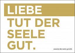 LIEBE TUT GUT - Postkarte A6
