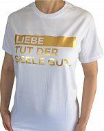 LIEBE TUT GUT - T-Shirt Größe L