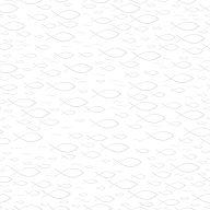 16erSet Serviette Fischprägung, weiß