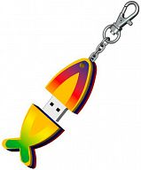 USB-Stick Fisch aus Moosgummi 8 GB