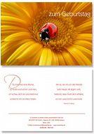 """Geburtstagskarte """"Sonnenblume"""""""